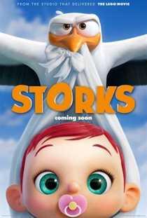 წეროები / Storks (ქართულად)