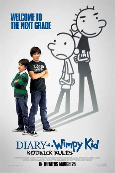 წრიპა ბიჭის დღიური 2: როდრიკის წესები  / DIARY OF A WIMPY KID: RODRICK RULES (ქართულად)