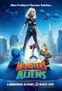 უცხოპლანეტელების წინააღმდეგ / Monsters vs Aliens  (ქართულად)