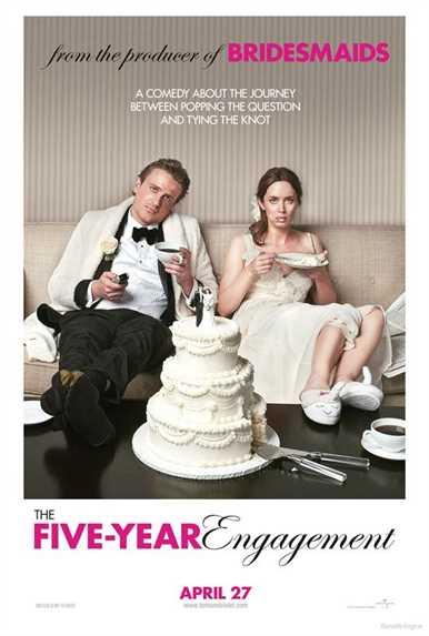 თითქმის დაქორწინებულები / The Five-Year Engagement (ქართულად)